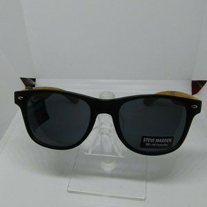 Authentic Steve Madden SM88174 Sunglasses Wooden